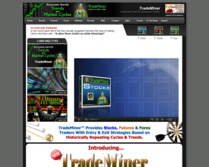 Screenshot of TradeMiner Forex